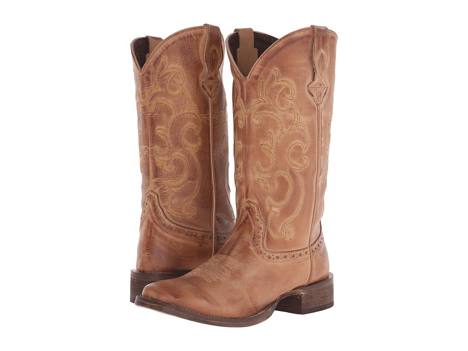 Roper Classic Cowgirl (Tan) Cowboy Boots