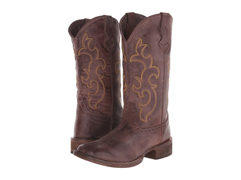 Roper Classic Cowgirl (Brown) Cowboy Boots