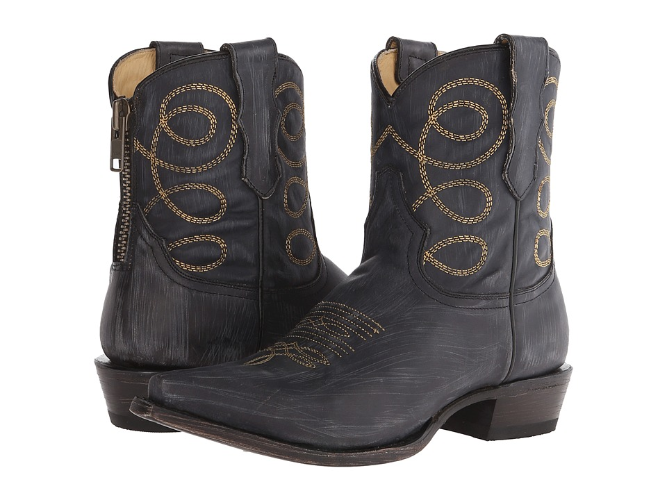 Stetson Abby (Black Sanded and Distressed) Women