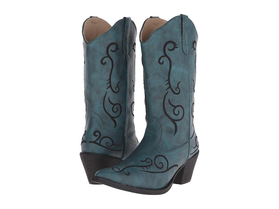 Roper - Jane (Blue) Cowboy Boots