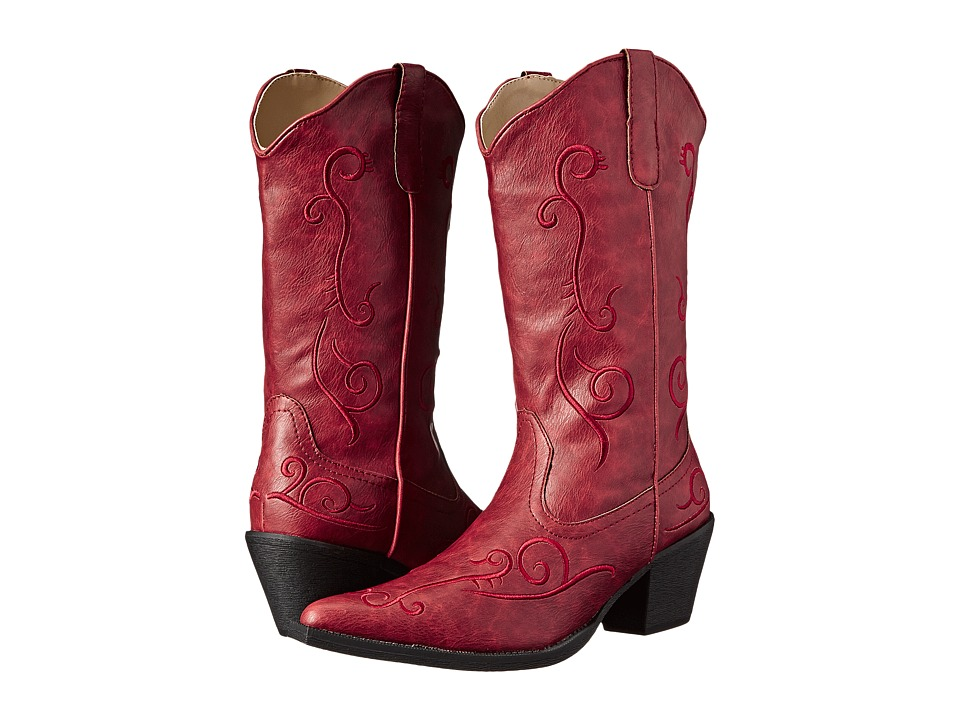Roper - Jane (Red) Cowboy Boots