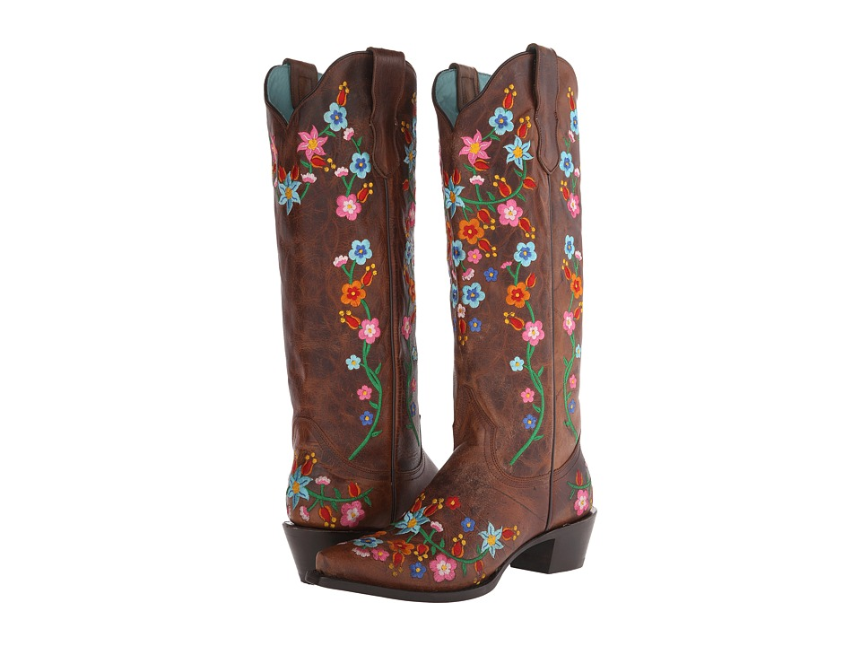 Stetson - Flora (Burnished Brown/Floral) Women