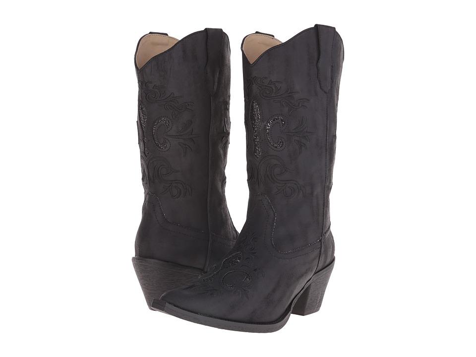 Roper - CC (Black) Cowboy Boots