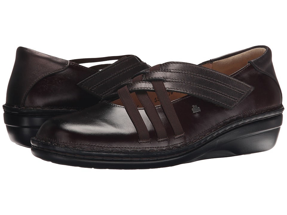 Finn Comfort Evanston S Kaffee Senegal/Shelby Womens Shoes