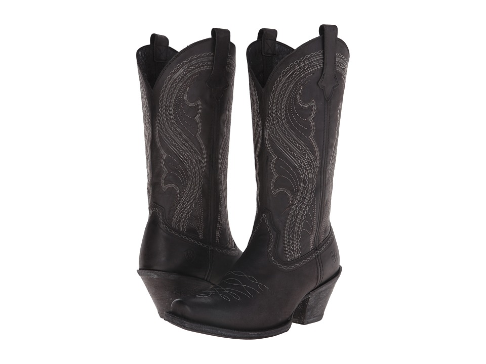 Ariat - Lively (Pitch Black) Cowboy Boots