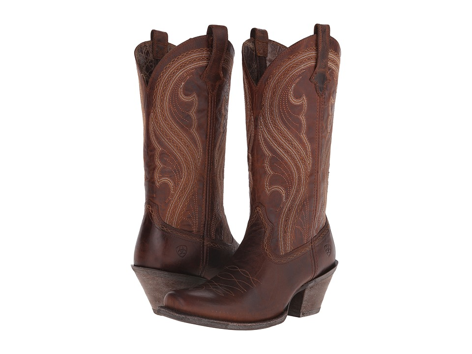 Ariat - Lively (Sassy Brown) Cowboy Boots
