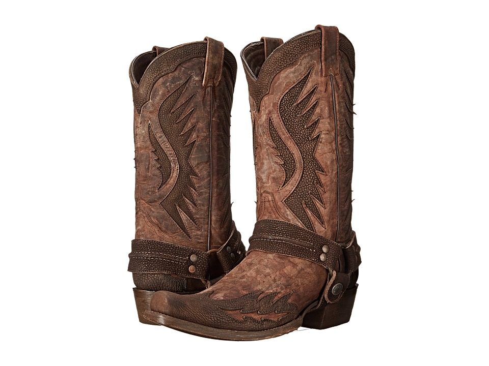 Stetson - Outlaw Wings (Washed Brown) Men