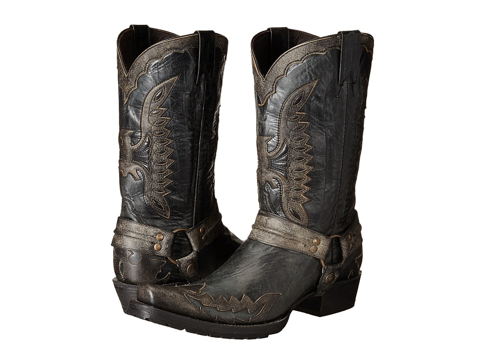 Stetson Outlaw Eagle Biker (Distressed Black) Men