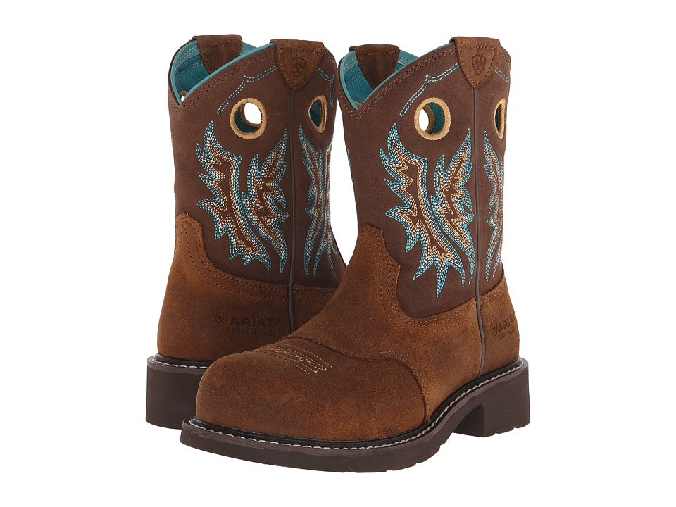 Ariat Fatbaby Cowgirl Composite Toe (Fireside/Tan) Cowboy Boots