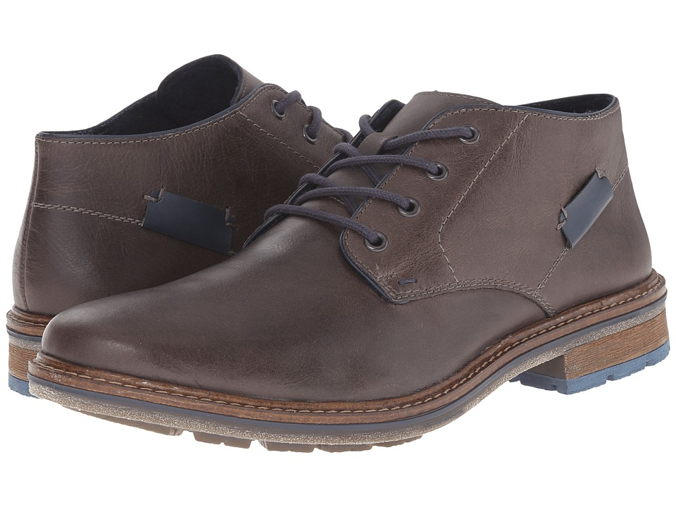 Rieker 11503 Granite Rusty/Navy Kid Mens Shoes