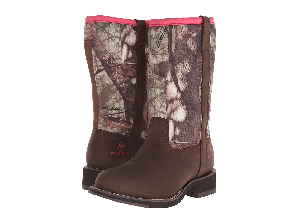 Ariat - Fatbaby All Weather (Palm Brown/Camo Neoprene) Cowboy Boots