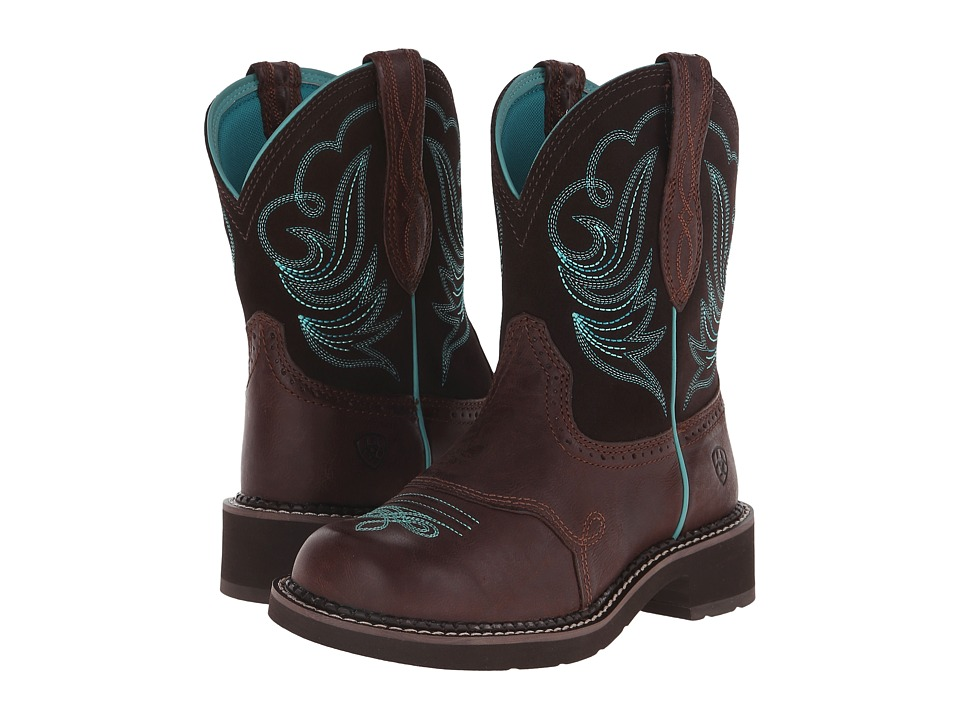 Ariat - Fatbaby Heritage Dapper (Royal Chocolate/Fudge) Cowboy Boots
