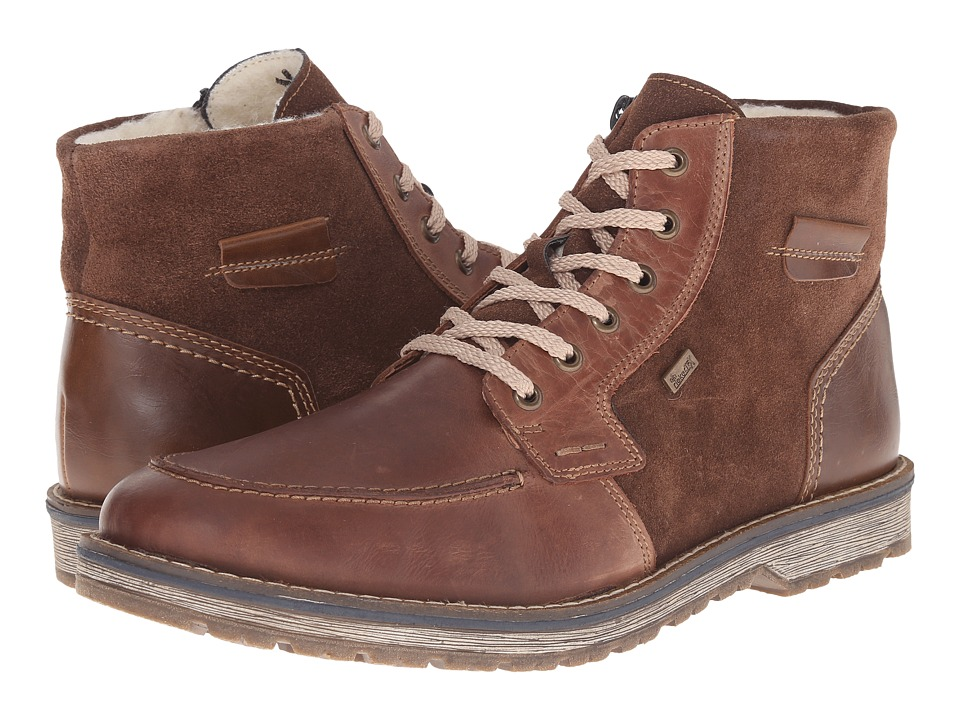 Rieker 39213 Marrone Ramon/Chocolate Samtcalf/Mogano Ambor Mens Boots