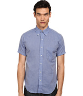 Mark McNairy New Amsterdam - Short Sleeve Seersucker Button Down