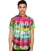 Mark McNairy New Amsterdam - Short Sleeve Tie-Dye Button Down