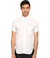 Mark McNairy New Amsterdam - Short Sleeve Perforated Button Down