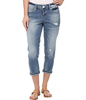 Seven7 Jeans - Destructed Crop Jeans in Vertigo Blue