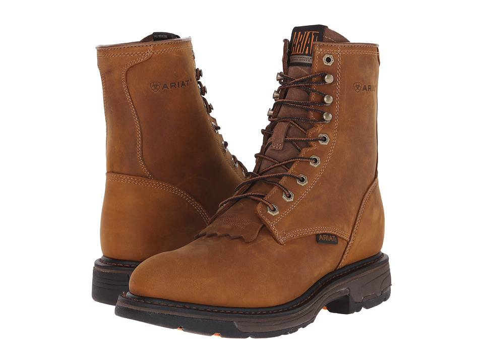 Ariat Workhog 8 (Aged Bark) Men