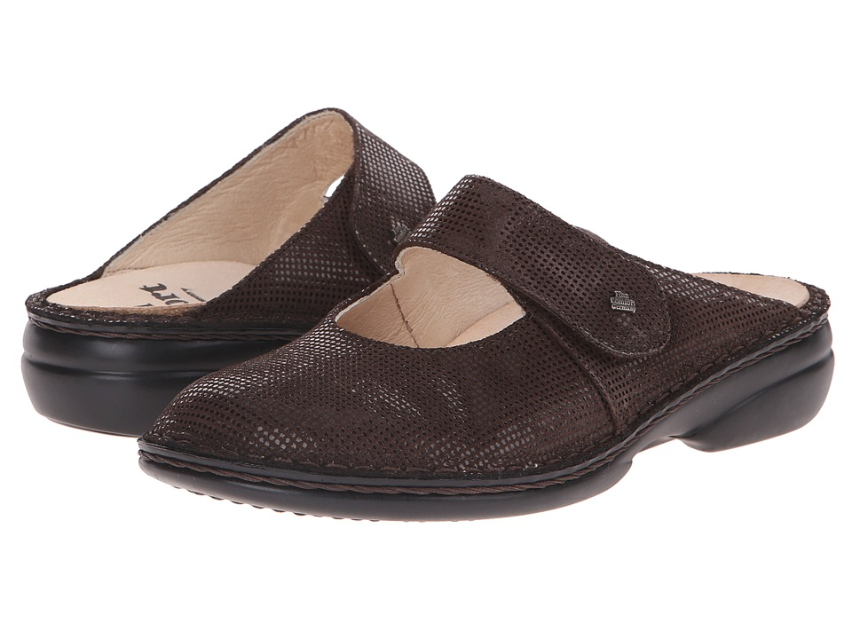Finn Comfort Stanford Kaffee Points Womens Clog/Mule Shoes