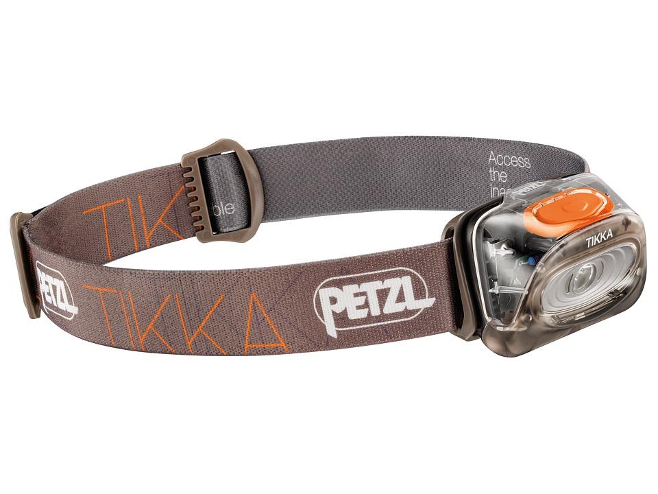 Petzl Tikka Brown Outdoor Sports Equipment