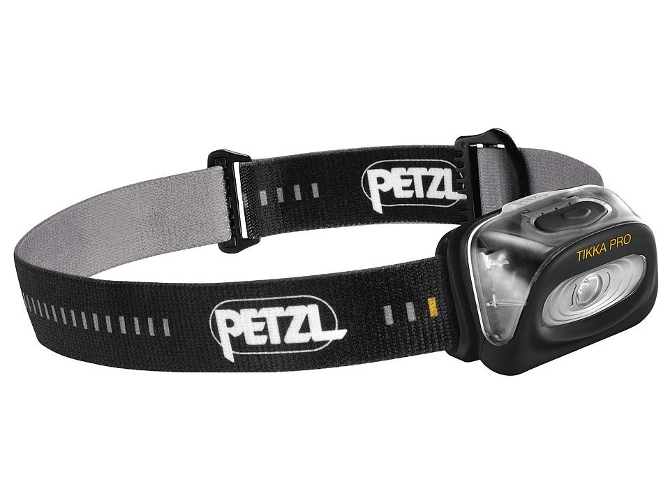 Petzl Tikka PRO Black Outdoor Sports Equipment