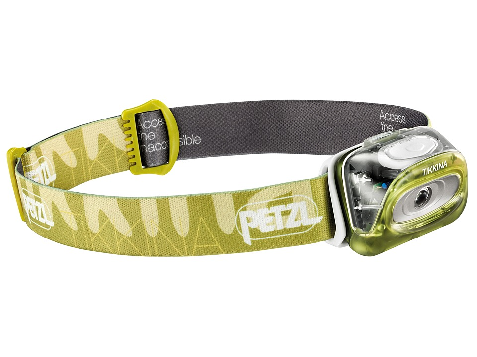 Petzl Tikkina Green Outdoor Sports Equipment