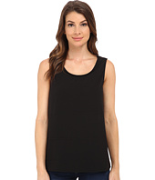 Jack by BB Dakota - Alary Crepe de Chine and Chiffon Tank Top