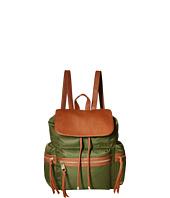 Steve Madden - Bpixie Nylon/Pebble Backpack w/ Triple Zip Pockets