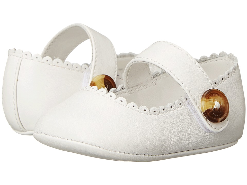Burberrys Kids - Ballerina (Infant/Toddler) (Optic White)...