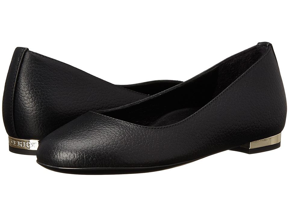 Burberry Kids Ballerina (Toddler/Little Kid) (Black) Girl's Shoes