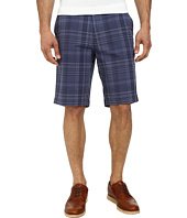Calvin Klein - Slub Multi Plaid Shorts