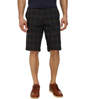 Calvin Klein - Slub Shadow Plaid Shorts