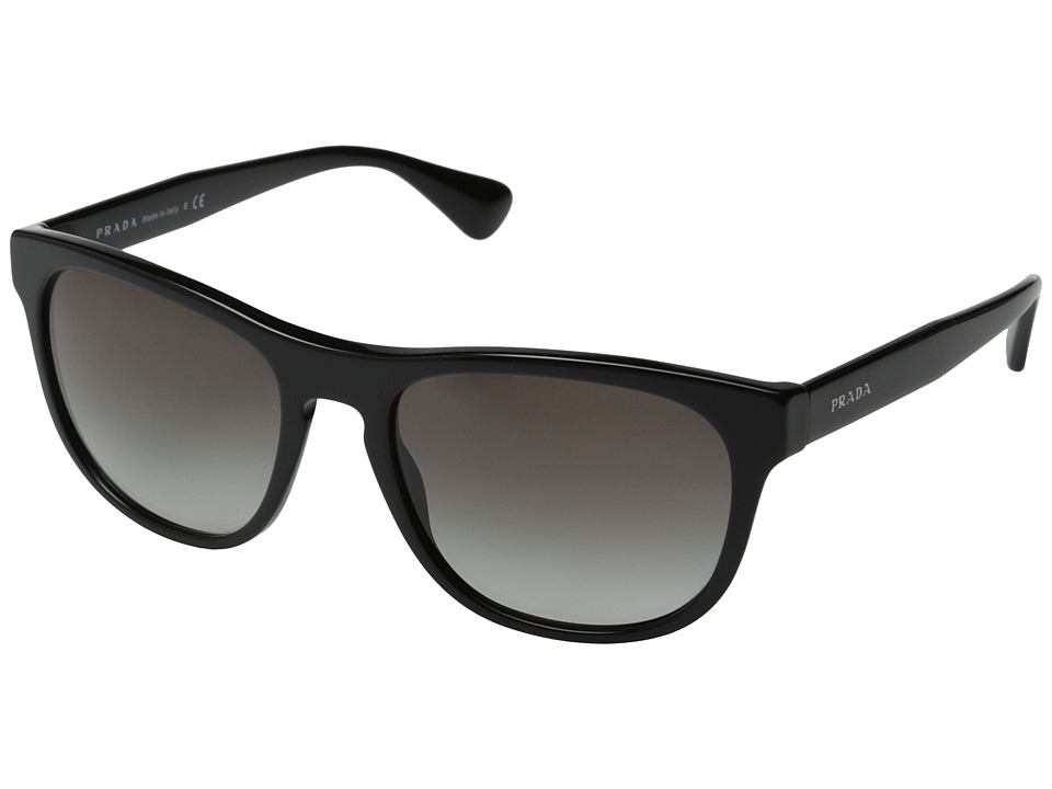 Prada PR 14RS Black/Grey Gradient Fashion Sunglasses