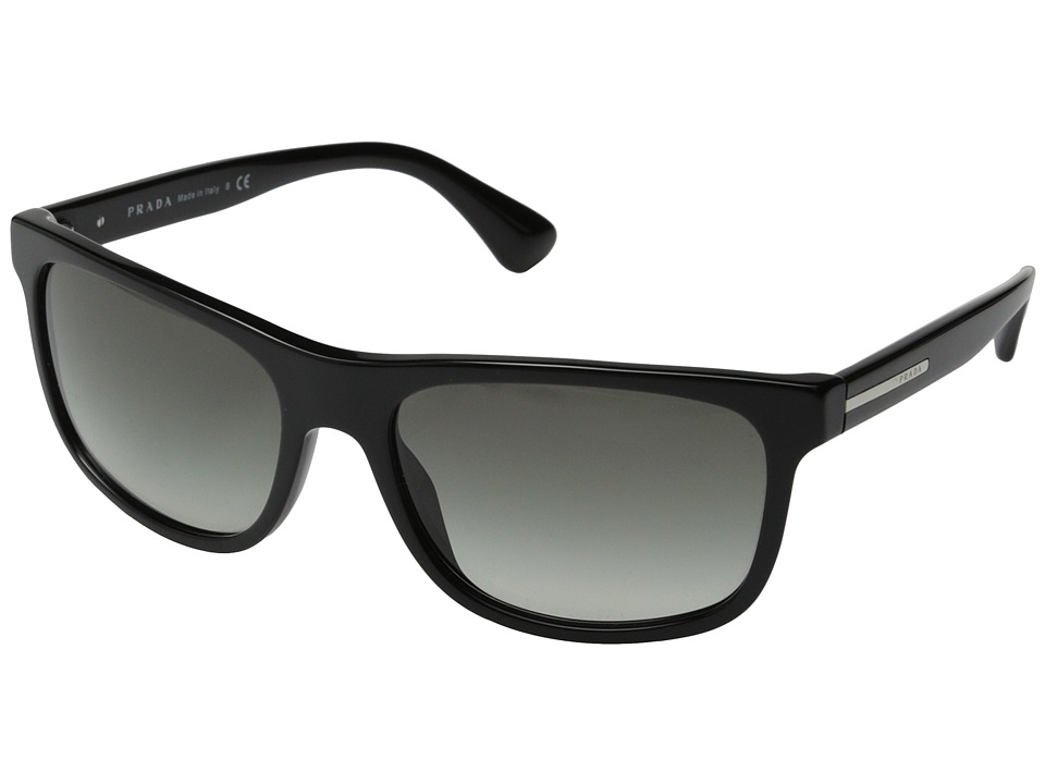 Prada PR 15RS Black/Grey Gradient Fashion Sunglasses