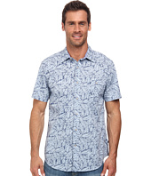 Nautica - Short Sleeve Leaves Print