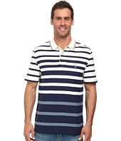 Nautica - Short Sleeve Engineered Stripe Polo