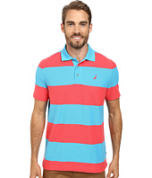Nautica - Short Sleeve Bold Stripe Polo
