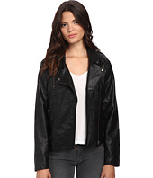 MINKPINK - Reckless PU Biker Jacket