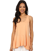 Dylan by True Grit - Racer Ruffle Tank Top