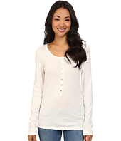 Dylan by True Grit - Long Sleeve Soft Shimmer w/ Shimmer Stripe & Shell Button