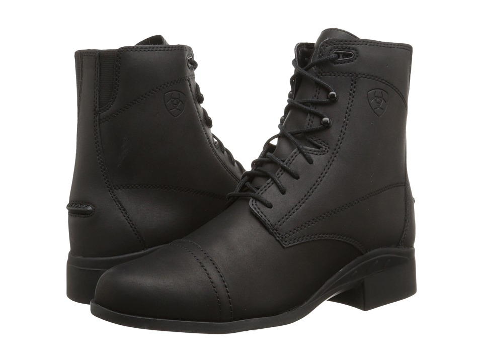 Ladies Victorian Boots & Shoes – Granny boots Ariat - Scout Paddock Black Womens Boots $79.95 AT vintagedancer.com