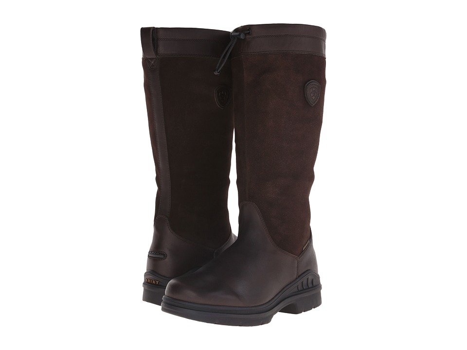 Ariat - Belle Tall H2O (Dark Brown) Women