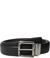 Cole Haan - 32mm Feather Edge Stitched Reversible with Harness Buckle