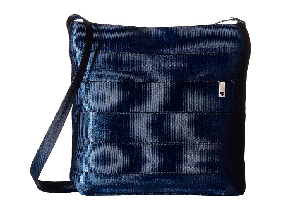 Harveys Seatbelt Bag - Streamline Crossbody (Indigo) Cross Body Handbags