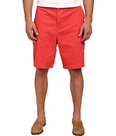 Nautica Big & Tall - Big & Tall Twill Flat Front Shorts