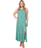 MICHAEL Michael Kors - Plus Size Rain Print Maxi Tank Dress