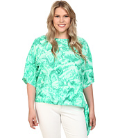 MICHAEL Michael Kors - Plus Size Cove Tie Top