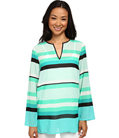 MICHAEL Michael Kors - Kirkham Stripe V-Neck Top