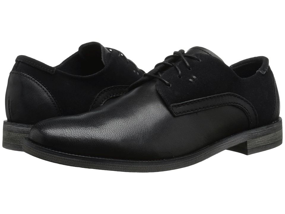 Stacy Adams Barstow Black Mens Plain Toe Shoes