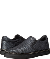 Versace Collection - Scales and Chain Leather Slip-On